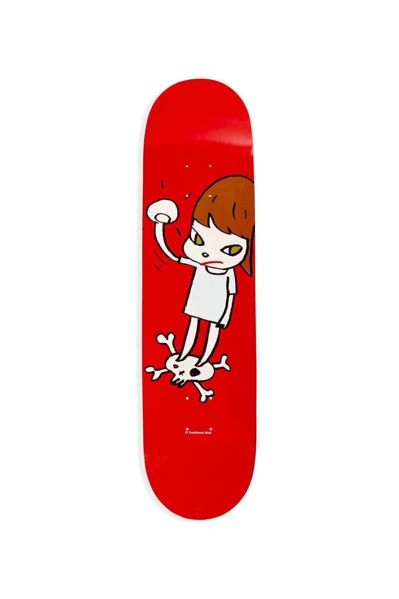 MoMA Design Store 推出折扣奈良美智、草間彌生聯乘滑板板身系列