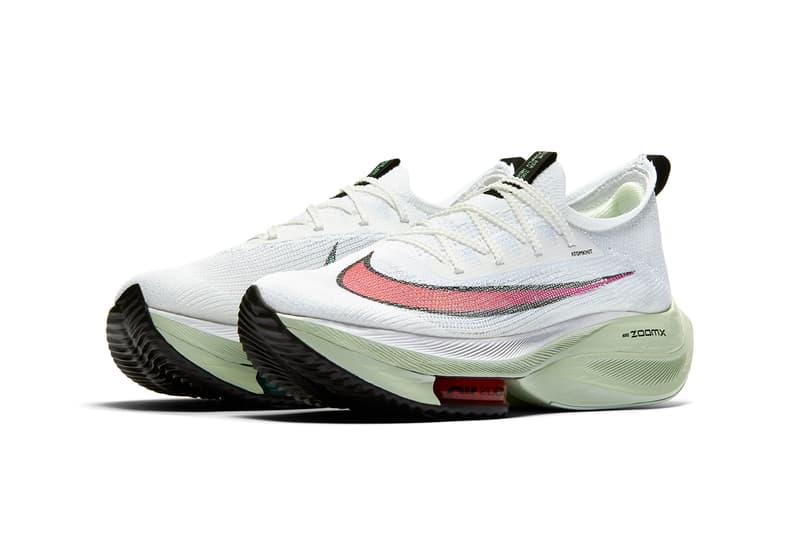 Nike Air Zoom Alphafly NEXT% 跑步鞋款追加全新夏日配色