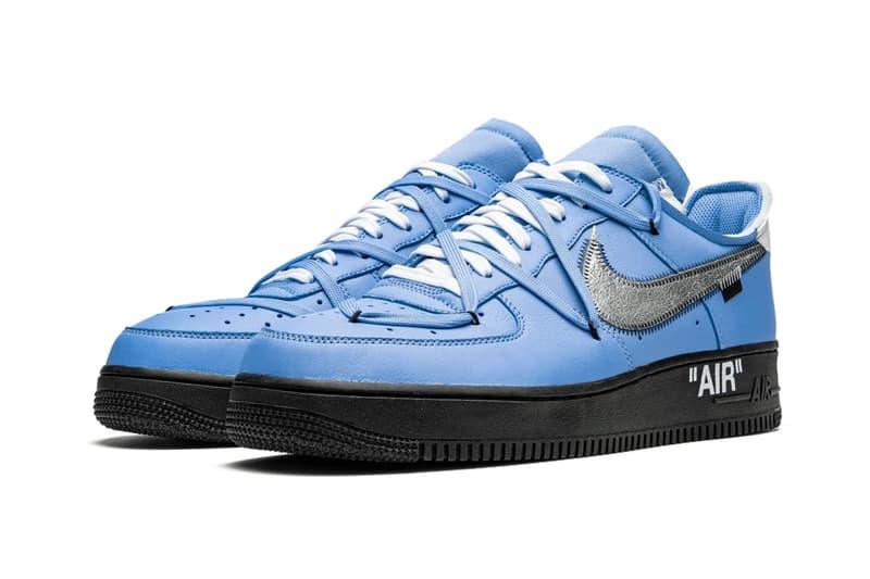 Off-White™ x Nike Air Force 1 全新聯名配色「MCA」高清圖輯曝光
