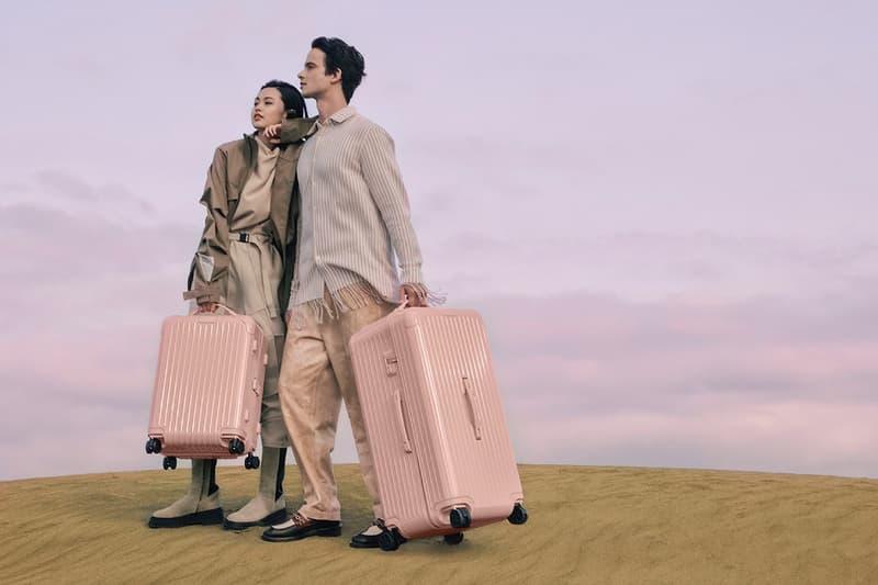 RIMOWA 推出全新「Desert Rose」及「Cactus」配色 Essential 旅行箱