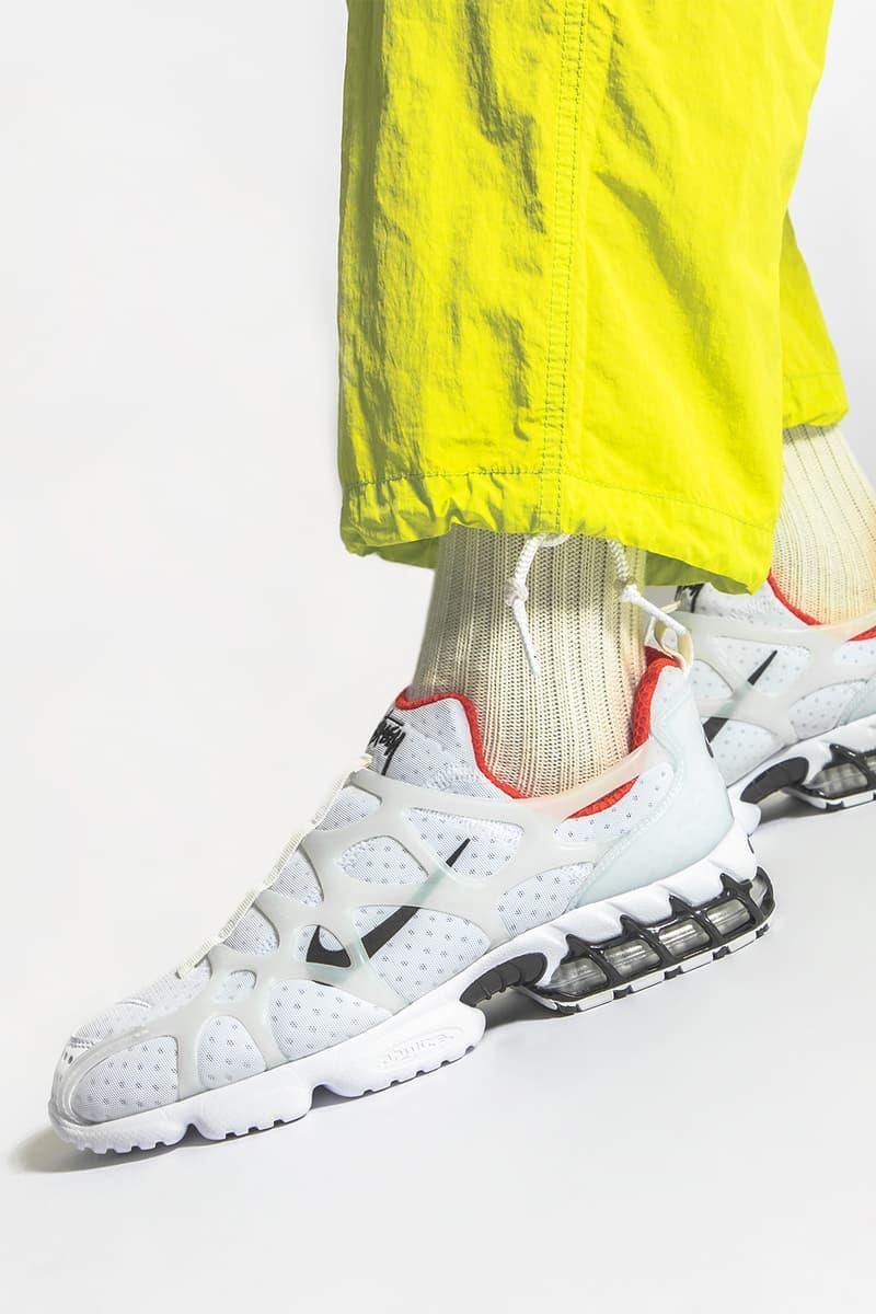 HYPEBEAST 近賞 Stüssy x Nike Air Zoom Spiridon Kukini 聯乘服飾