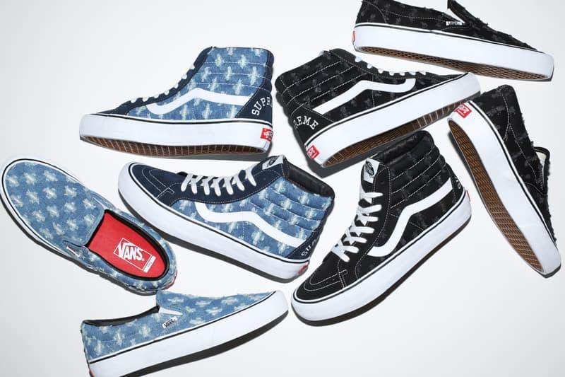 Supreme x Vans 2020 春夏聯乘鞋款發佈