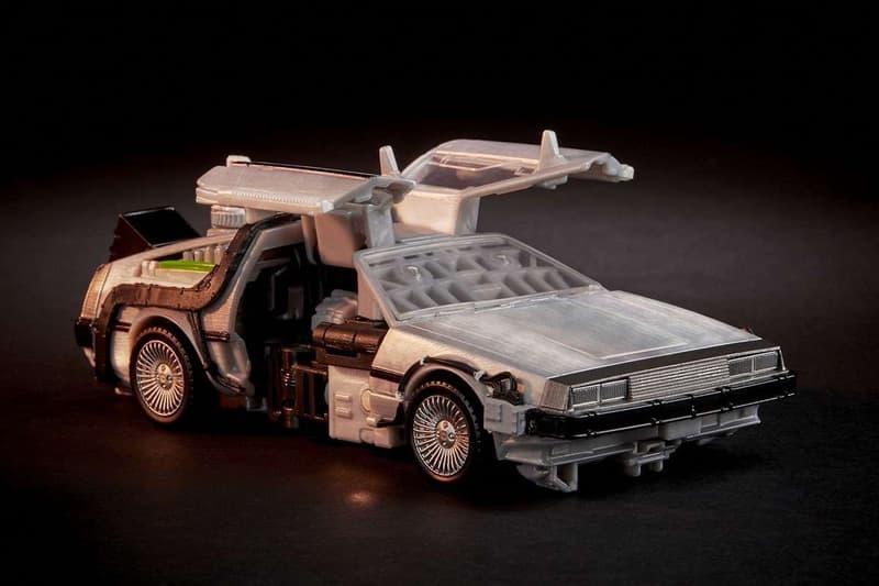 Hasbro 發表全新《變形金剛》x《Back To The Future》聯乘 Gigawatt DeLorean 模型