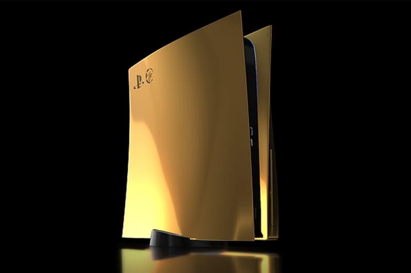 Truly Exquisite 推出 24K 金版本 Sony PlayStation 5 定製套裝