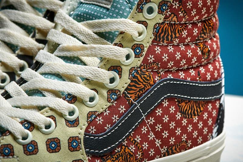 Vans 推出全新「Tiger Patchwork」虎紋拼接鞋款系列