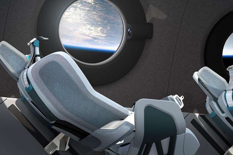 Virgin Galactic 全新載人太空梭 SpaceshipTwo 內裝曝光