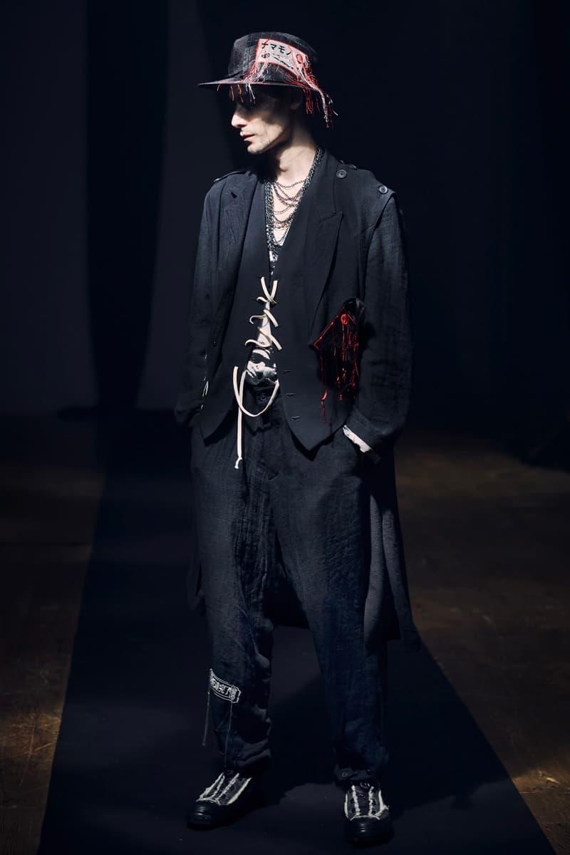 Yohji Yamamoto 2021 春季系列正式發佈