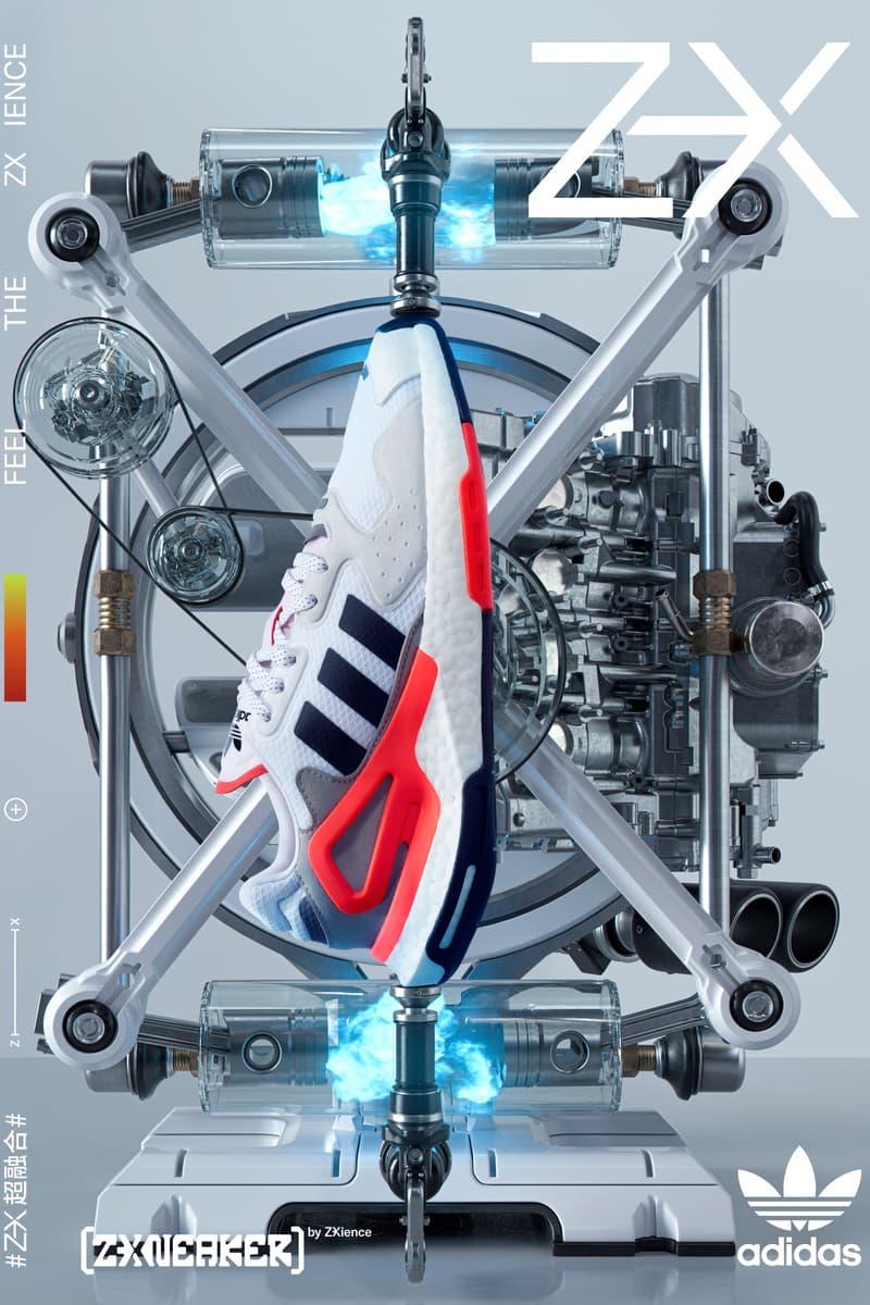 adidas ZX 系列搭载全新科技与外观登场