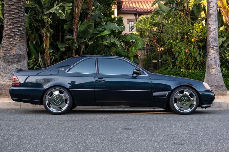 Michael Jordan 座駕 1996 Mercedes-Benz S600 Lorinser 展開販售