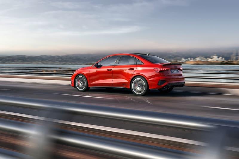 Audi 發表 2022 年式樣 S3 Sportback 和 Sedan 車型