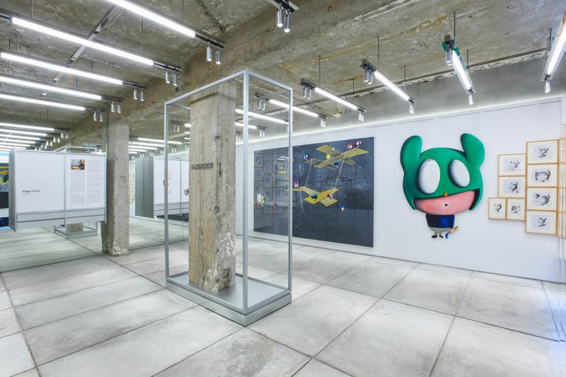 the WAREHOUSE gallery 正式开启 EDGAR PLANS 展览《Optical Heroes》
