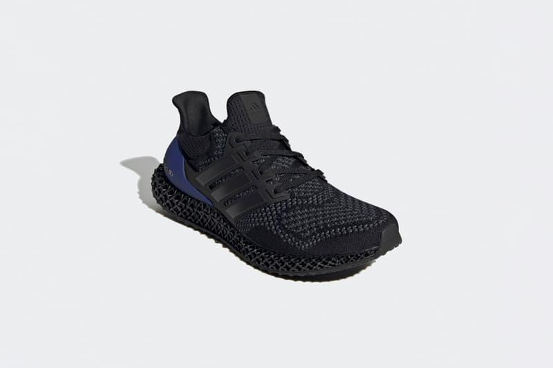 率先近賞 adidas 混種跑鞋 Ultra 4D 黑紫配色清晰官方圖輯