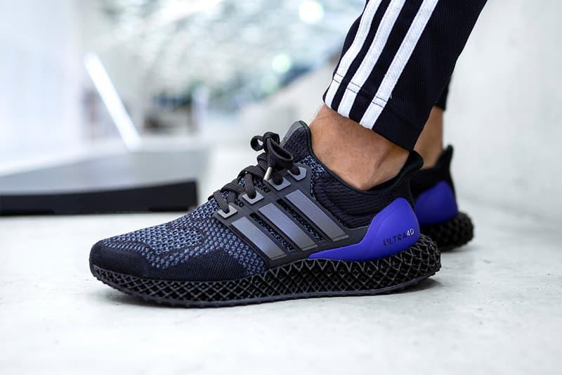 adidas 混種跑鞋 Ultra 4D 全新黑紫配色登場