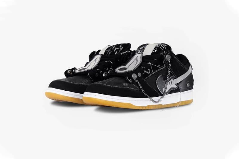 C2H4 設計師打造 Nike SB Dunk Low 全新「搖滾版本」定製鞋款