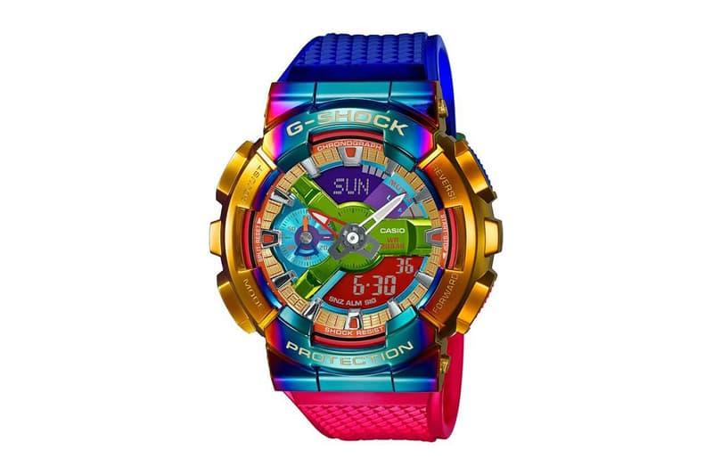 G-Shock 發表全新金屬物料 GM-110 系列腕錶