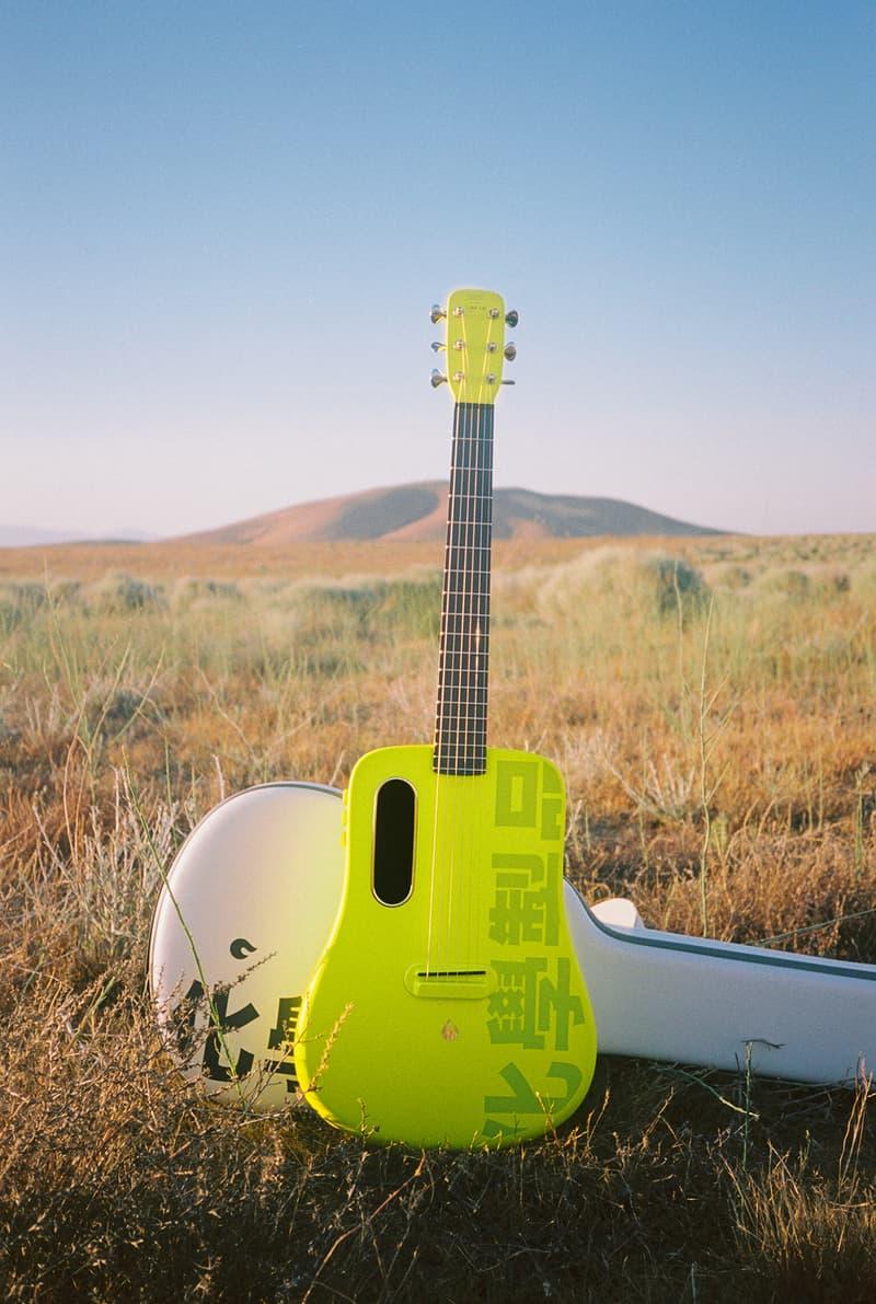 Chemist Creations x LAVA MUSIC 联名吉他即将发售