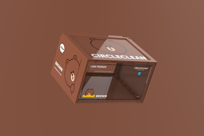 CIRCLECLEAN 携手 LINE FRIENDS 推出全新联名鞋盒