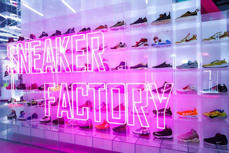 长沙 IFS 「潮鞋工厂」概念潮鞋展创意云集
