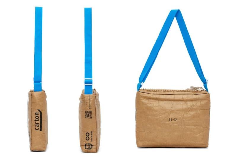 doublet 推出以「貨運紙箱」為靈感的怪異側背包