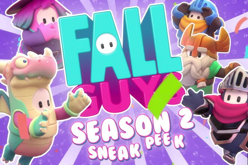 《Fall Guys 糖豆人:終極淘汰賽》全新第二季遊戲宣傳影片正式發佈