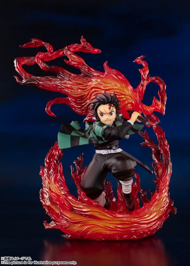 Figuarts ZERO 推出全新《鬼滅の刃》竈門炭治郎「火之神神樂」模型