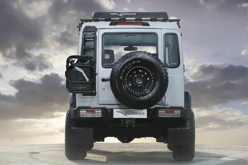 印度車商 Force Motors 打造「平民 G-Class」Gurkha 車款