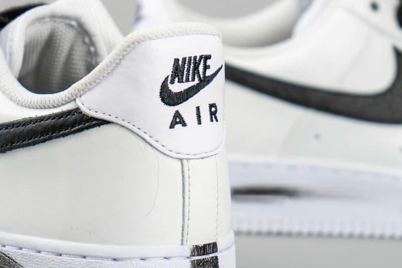 近賞 PEACEMINUSONE x Nike Air Force 1「Para-Noise 2.0」細節圖輯