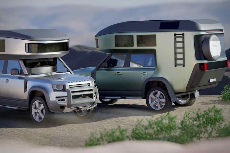 GehoCab 打造全新露營版本定製 Land Rover Defender 車款