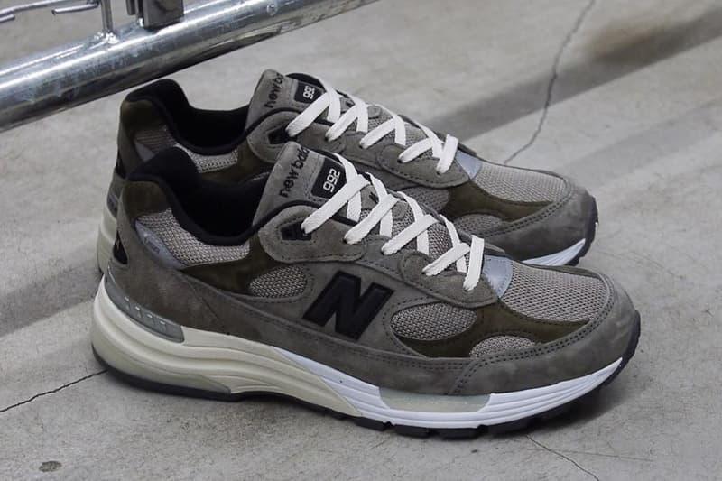 JJJJound x New Balance 全新聯名 992 鞋款即將迎來全球發售