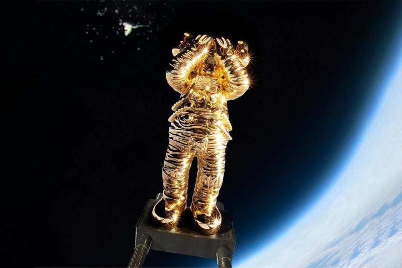 「KAWS:HOLIDAY」第五站正式登陸太空