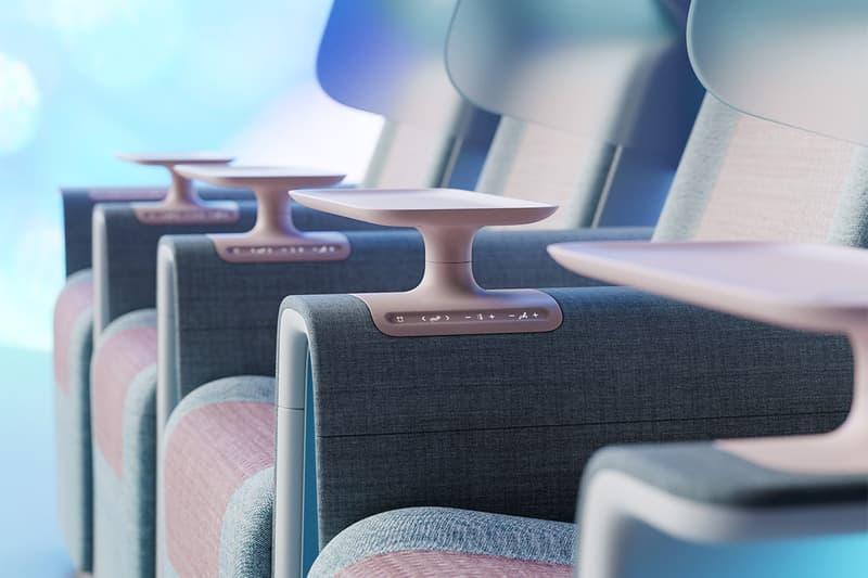 Layer 打造全新高概念「防疫」電影座椅設計