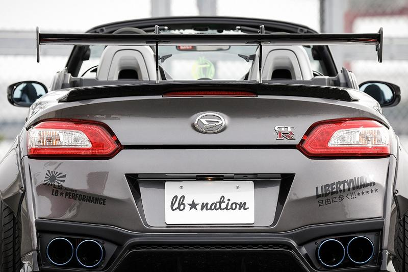 Liberty Walk 打造 Daihatsu Copen 戰神化 GT-R 改裝車款