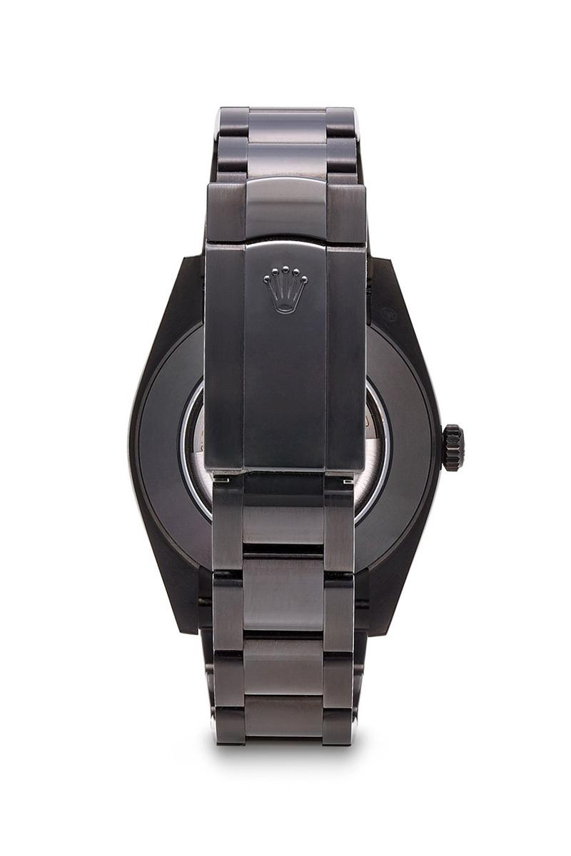 MAD Paris 推出全新 Rolex Datejust 41 啞光黑版本定製腕錶