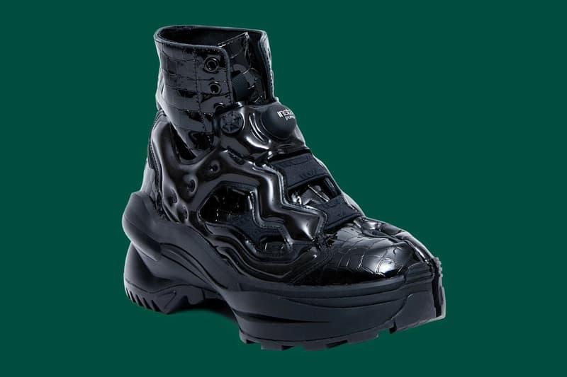 Maison Margiela x Reebok Tabi Instapump Fury 全新聯名黑魂鞋款開放預購