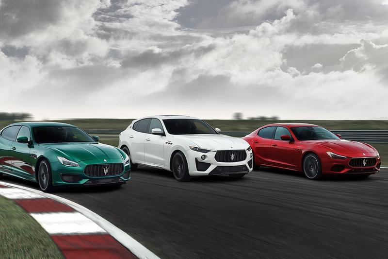 Maserati 發表全新 Trofeo 系列 Levante、Quattroporte 和 Ghibli 車款