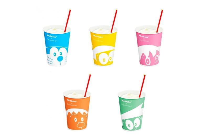 日本 McDonald's 推出《哆啦A夢》主題 McShake 奶昔