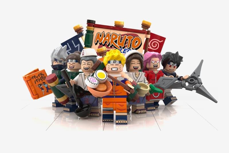 LEGO IDEAS 實體化《Naruto》經典場景「一楽拉麵」