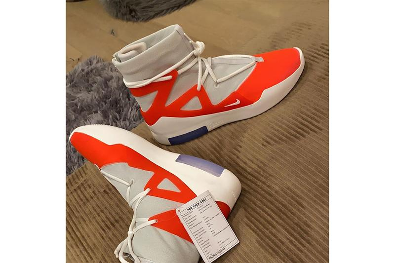NBA 鞋王 P.J. Tucker 曝光全新 Nike Air Fear of God 1 鞋款 Sample