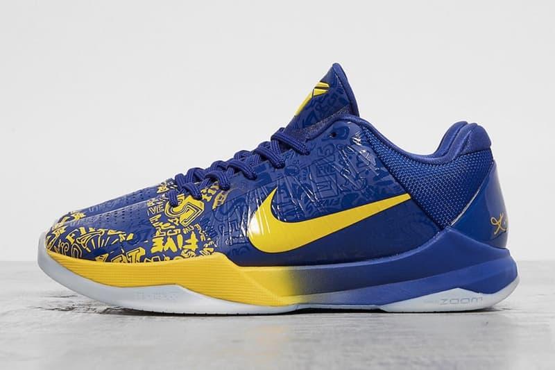 Nike Kobe 5 Protro 全新配色「5 Rings」官方圖輯率先曝光