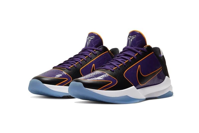 Nike Kobe 5 Protro 最新配色「Lakers」發售日期正式公開
