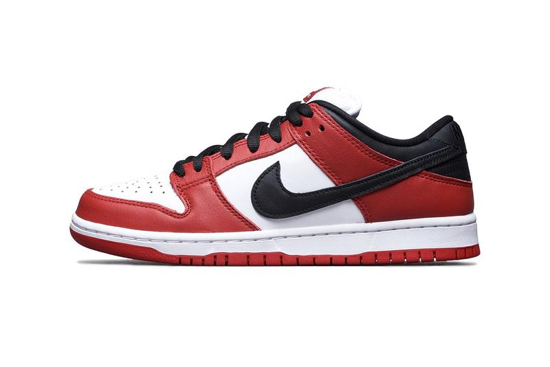 Nike SB Dunk Low J-Pack 經典移植配色「Chicago」正式登場