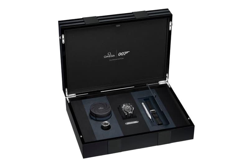 OMEGA 發表 James Bond 別注純鉑金製 Seamaster Diver 300M 腕錶