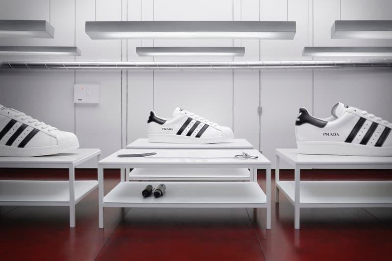 Prada x adidas 第二回聯乘 Superstar 系列鞋款正式發佈