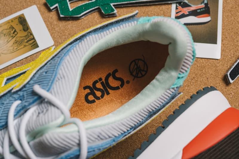 近赏 Sean Wotherspoon x ASICS x atmos 三方联名全新 GEL-Lyte III 鞋款