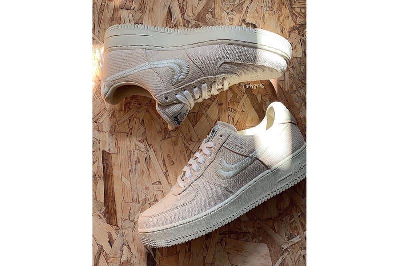 Stüssy x Nike Air Force 1 最新聯乘鞋款曝光