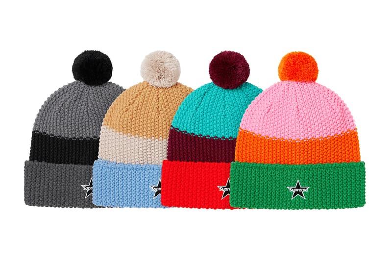 Supreme 正式發佈 2020 秋冬 Beanies 毛帽系列