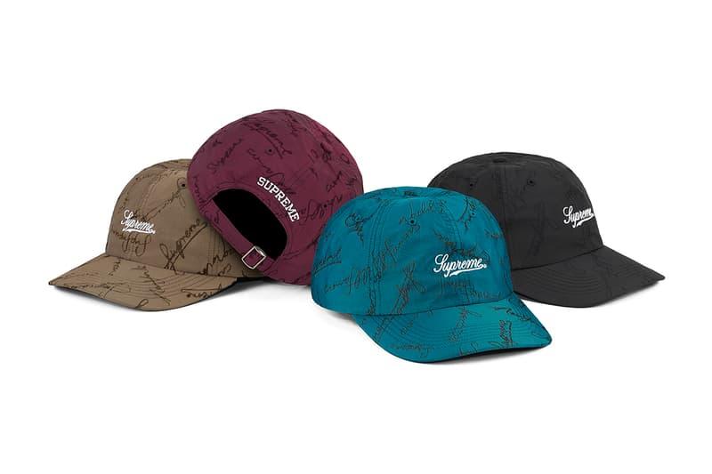 Supreme 正式發布 2020 秋冬帽款系列