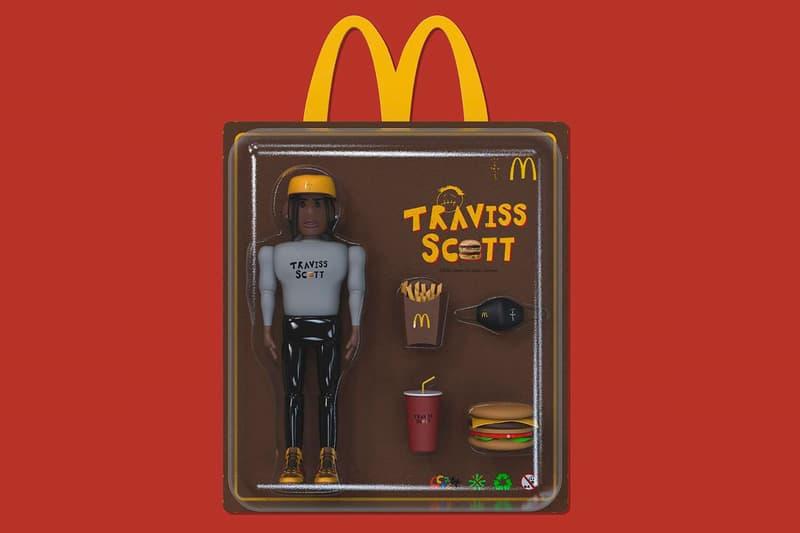 韓國藝術家打造 Travis Scott x McDonald's 聯乘玩具