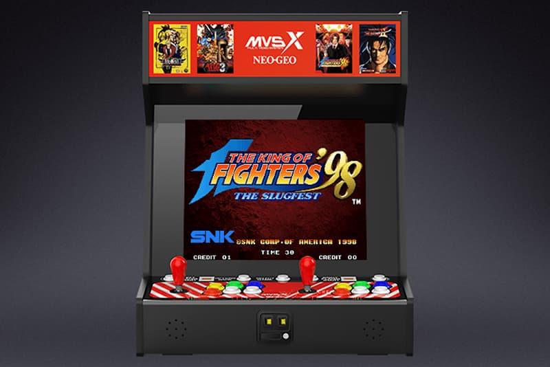 MVSX Home Arcade 推出全新 SNK 家用版遊戲街機