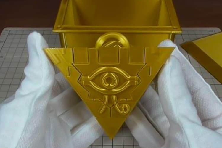 網民以 3D 打印技術打造真正《遊戲王》「千年積木」